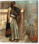 Zenobia's Last Look On Palmyra Canvas Print
