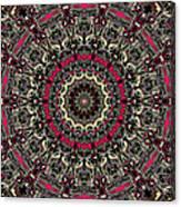 Zentangle No. 7 Kaleidoscope Canvas Print