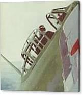 Zero Pilot Canvas Print