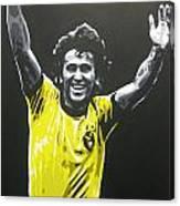 Zico - Brazil Canvas Print