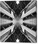 Zigzag Pier Illusion D Canvas Print