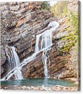 Zigzag Waterfall Canvas Print