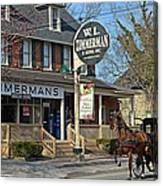 Zimmerman's Store Intercourse Pennsylvania Canvas Print