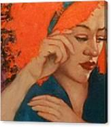 Zinnia Canvas Print