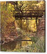 Zion Bridge Canvas Print