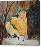 Zion Hike Canvas Print