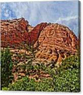 Zion National Park In Summer Canvas Print