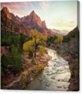 Zion National Park Canvas Print