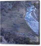 Zion National Park Reflection 2 Canvas Print