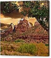 Zion National Park Work Of Art  Canvas Print