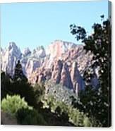 Zion Park Majestic View Canvas Print