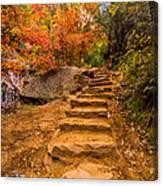 Zion Staircase Canvas Print