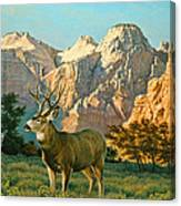 Zioncountry Muleys Canvas Print