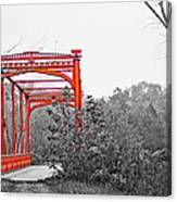 Zoar Bridge Canvas Print