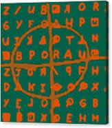Zodiac Killer Code And Sign 20130213p28 Canvas Print