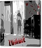 Zombie Attack Canvas Print