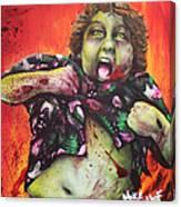 Zombie Chunk Canvas Print