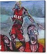 Zombie Heat Canvas Print