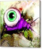 Zombie Insect Canvas Print