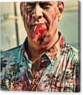 Zombie Run Nola 21 Canvas Print