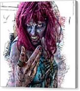 Zombie Want You Canvas Print