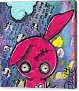 Zombiemania 1 Canvas Print