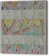 Zoo View Canvas Print