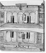 Zoroastrian Temple Canvas Print