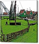 Zuiderzee Open Air Musuem In Enkhuizen-netherlands Canvas Print