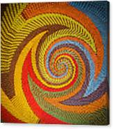 Zulu Basket Detail  Canvas Print