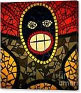 Zulu Man In Lomo Canvas Print