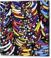 Zulu Necklace Canvas Print