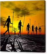 Zulu Warrior Trek Canvas Print