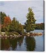 Algonquin - Canoe Lake Canvas Print