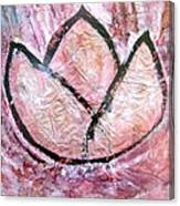 Awakening - The Lotus Canvas Print