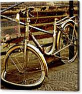 Bicycle Breakdown Canvas Print
