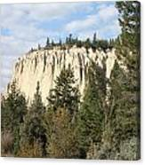 Canadian Rocky Mountain Hoodoos Bc Canvas Print