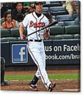 Chipper Jones Canvas Print