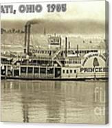 Coney Island Steamer Princess Canvas Print