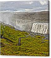 Detifoss Waterfall In Iceland - 02 Canvas Print