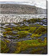 Detifoss Waterfall In Iceland - 03 Canvas Print