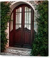 Doorway Eze  Canvas Print