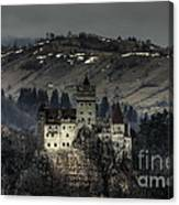 Dracula's Castle Canvas Print