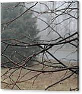 Fog Hangs Heavy Canvas Print