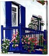 Greek Isles - Mykonos Canvas Print