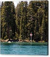 Lake Tahoe Sugar Pine Point Light Canvas Print