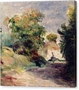 Landscape Near Cagnes Canvas Print