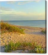 Longboat Key Beach View Canvas Print