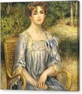 Madame Gaston Bernheim De Villers  Canvas Print