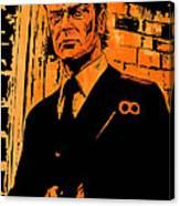 Michael Caine Canvas Print